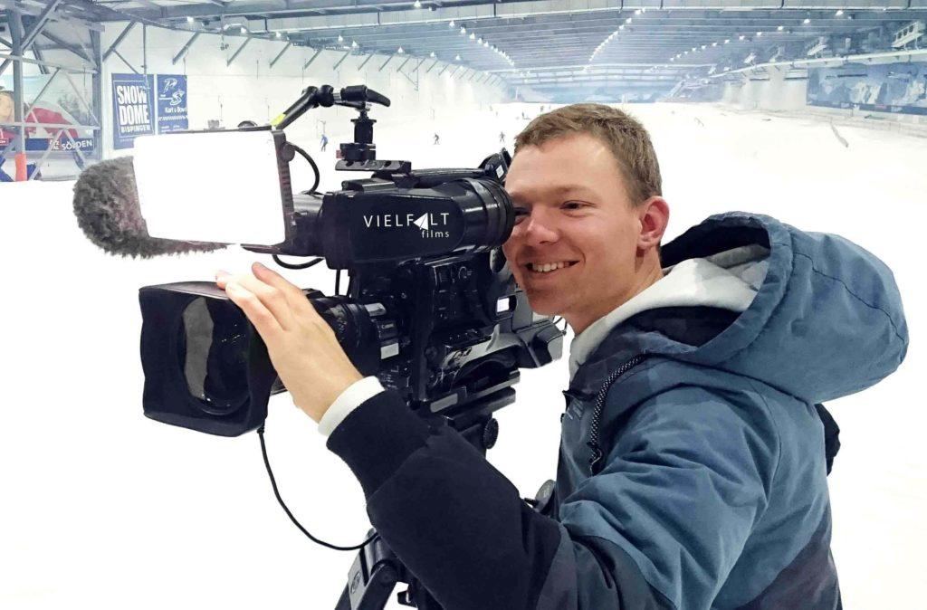 das bild zeigt vielfaltfilms kameramann kai wrase